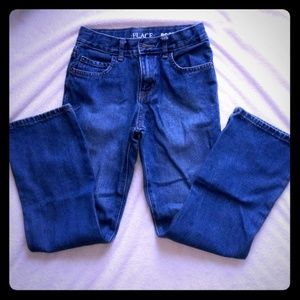 Boys size 8 jeans bootcut The children's place